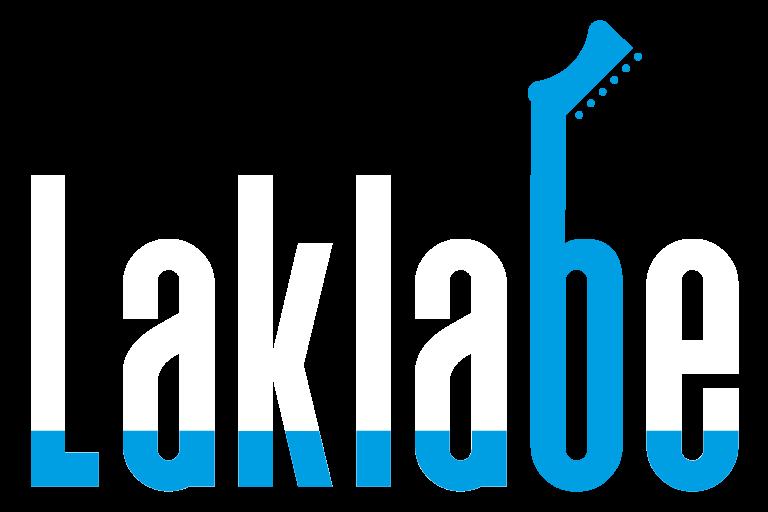 Logo de laklabe para la intro de la web de los locales de ensayo
